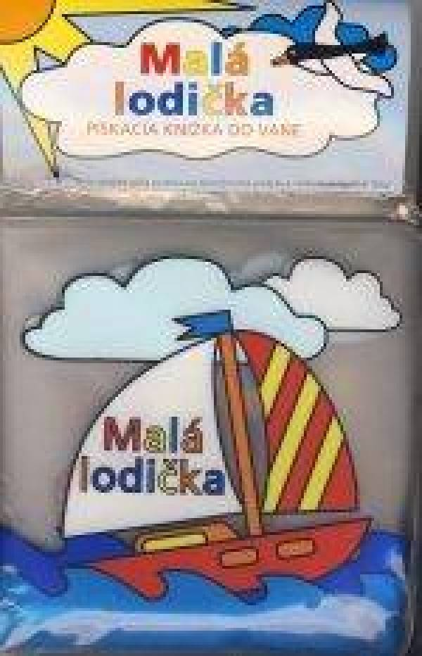 f5eea9afeb MALÁ LODIČKA - PÍSKACIA KNIŽKA DO VANE